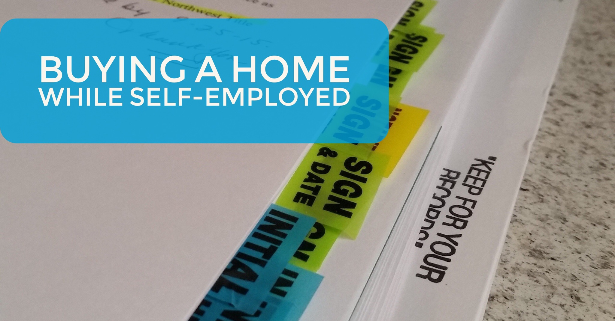buying home self employed